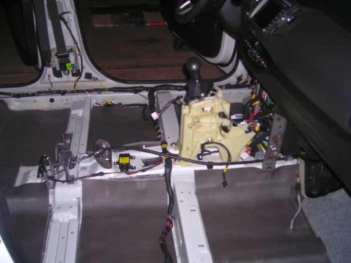 Шумовиброизоляция багажника