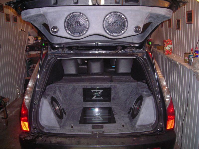 Инсталляция усилителей в багажнике своими руками