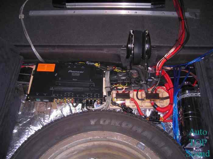 Подключение проводки и процессора