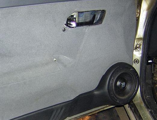 Подиумы на передние двери ваз 2110
