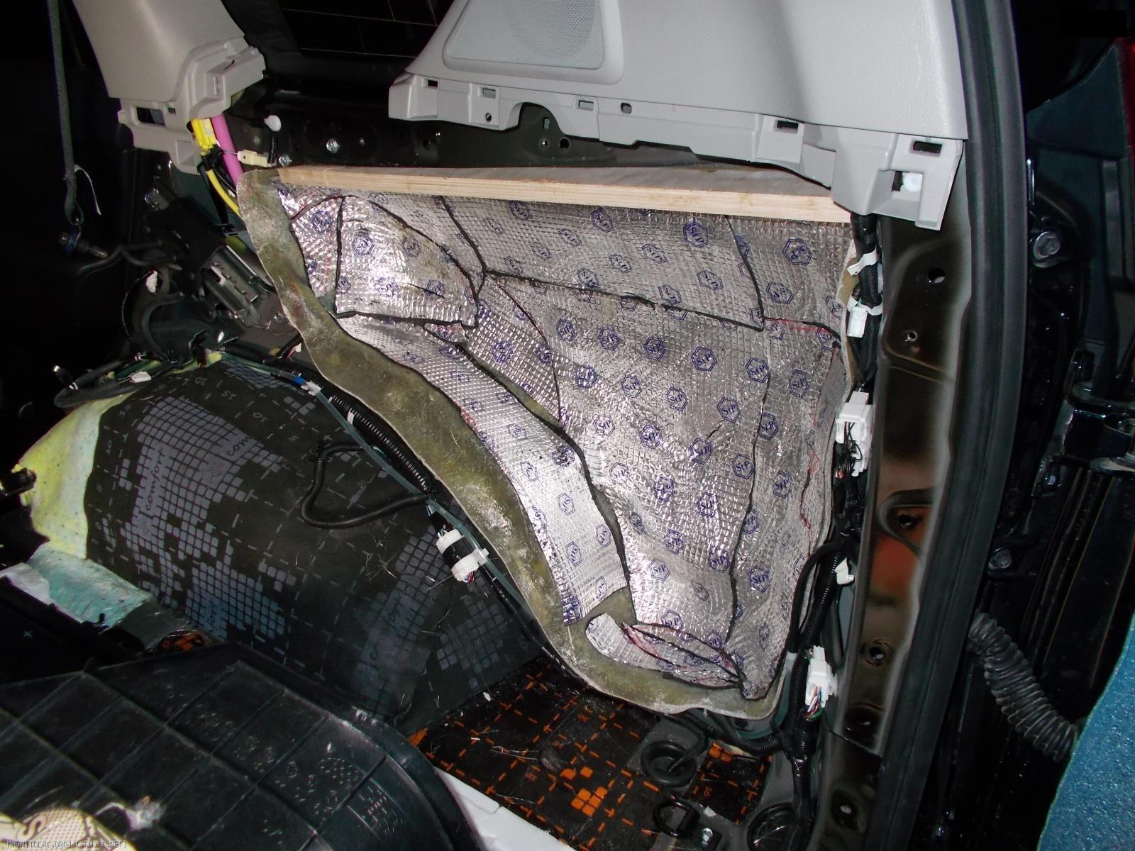 Изготовление стелса Toyota prado 150 2015