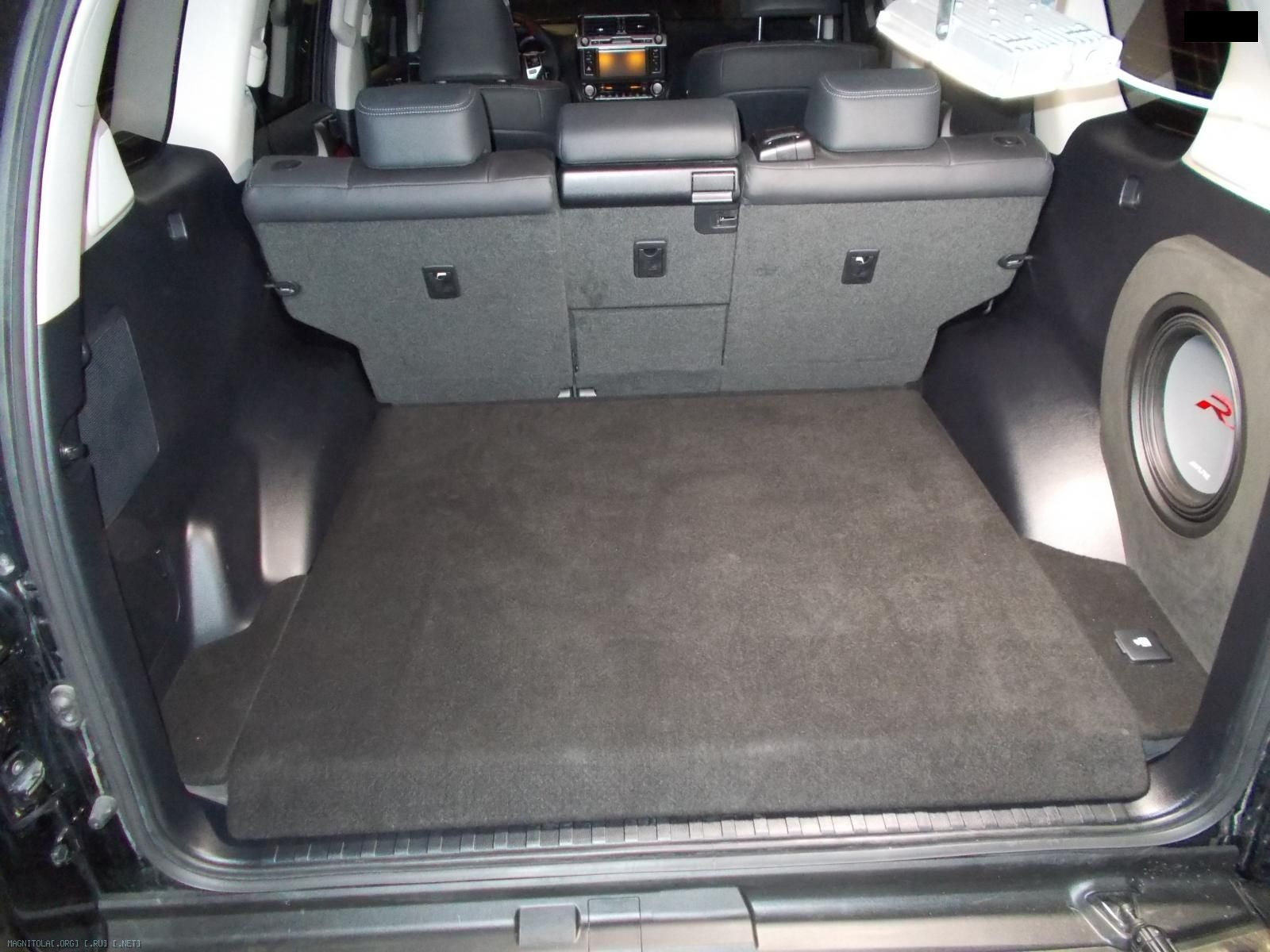Новый фальшпол в багажнике в Toyota prado 150 2015 Все под штатное оформление